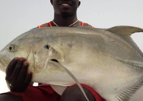 Pêche en Guinée Bissau à Joao Vieira