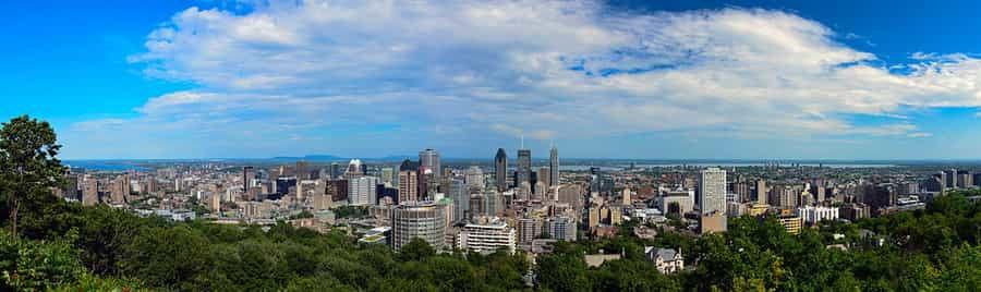 Montréal, depuis le Mont Royal