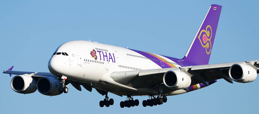 A380 de Thai Airways