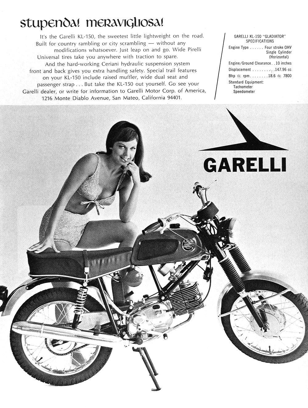 1967 Garelli KL 150 Ad