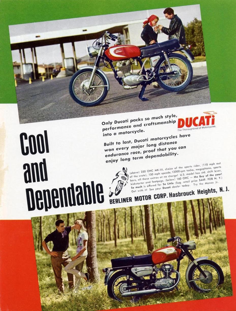 Ducati Bevel Singles Ad