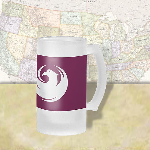 Phoenix Arizona City Flag Beer Mug