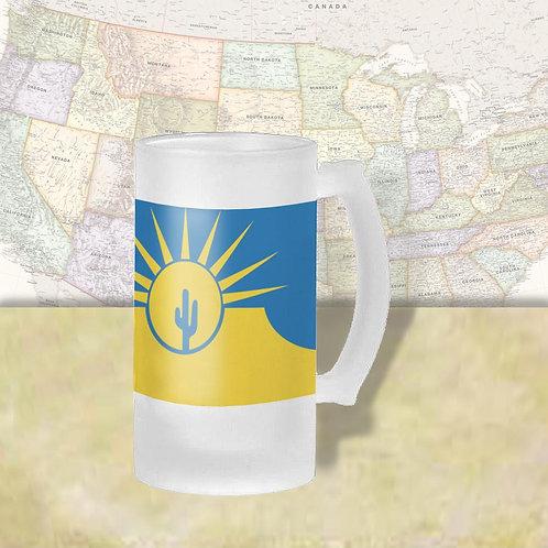 Mesa Arizona City Flag Beer Mug