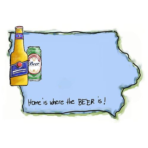 Home is Where the Beer Is - Iowa