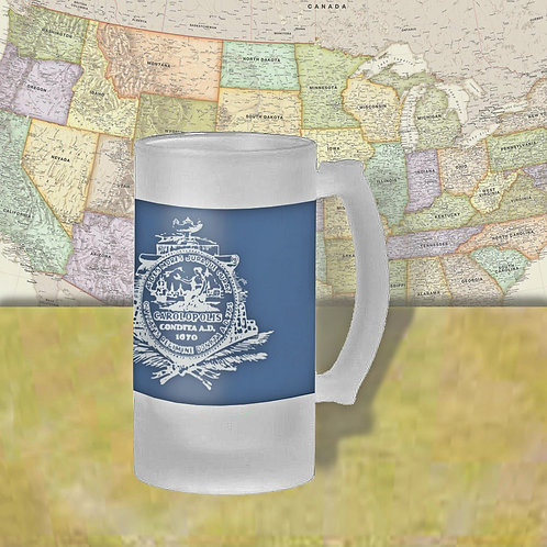 Charleston, SC City Flag Beer Mug