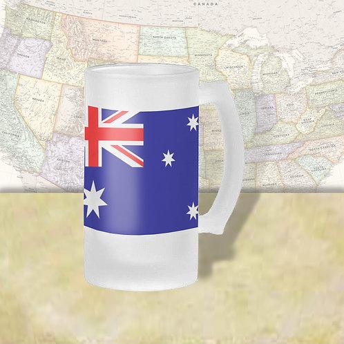 Australia Flag Beer Mug