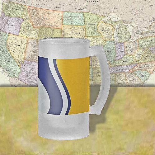 South Bend, IN City Flag Beer Mug
