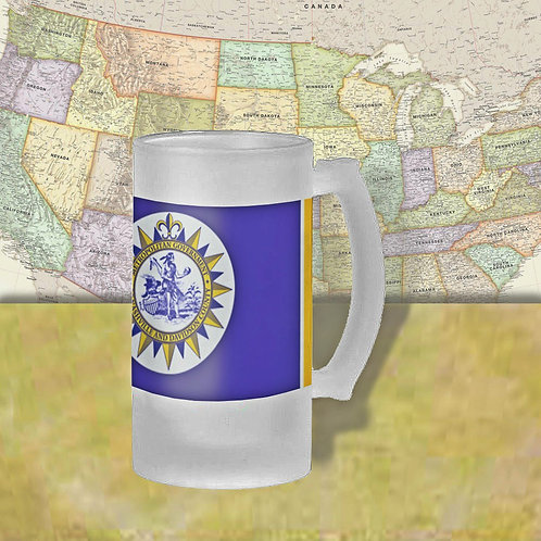 Nashville, TN City Flag Beer Mug