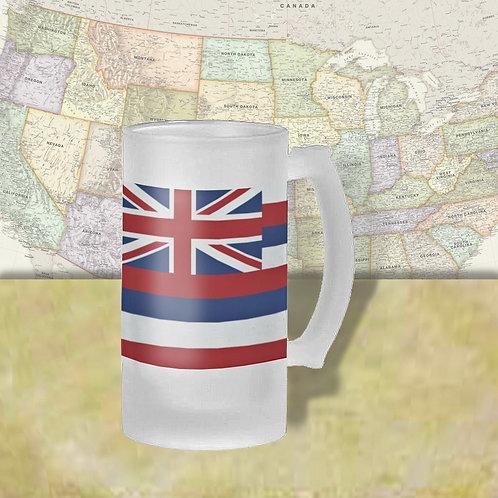 Hawaii State Flag Beer Mug