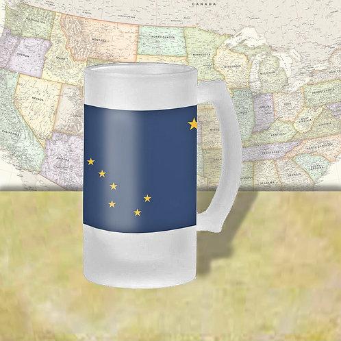 Alaska State Flag Beer Mug