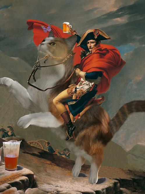 """""""Fine"""" Art Tee - Napoleon's Charge"""