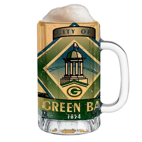City Flag Mug -Green Bay