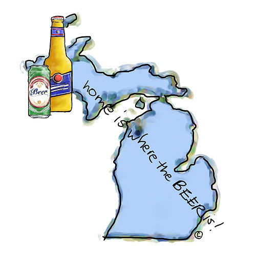 Home is Where the Beer Is - Michigan