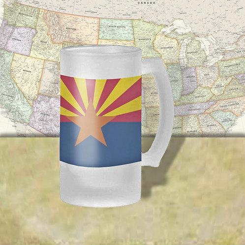Arizona State Flag Beer Mug