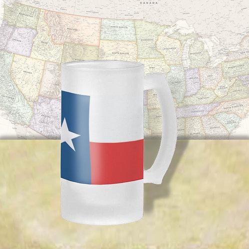 Texas State Flag Beer Mug