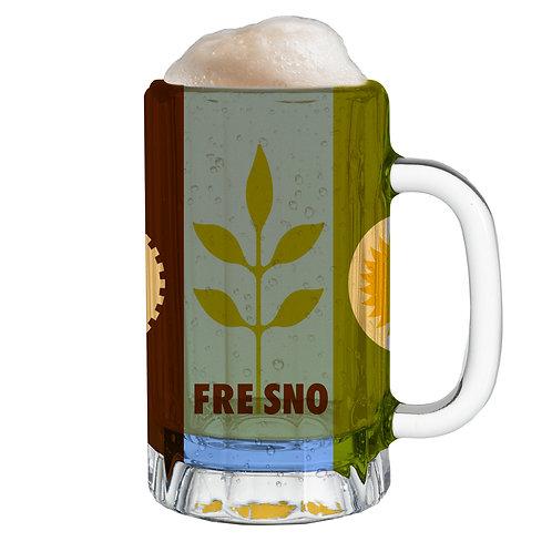 City Flag Mug -Fresno CA