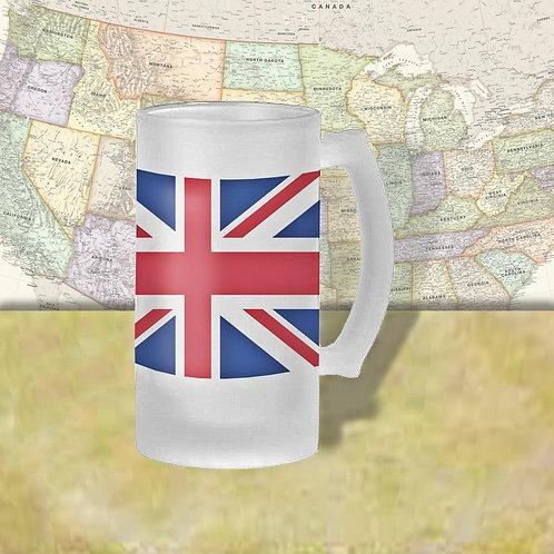 England Flag Beer Mug