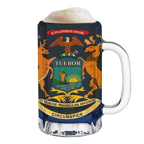 State Flag Mug Tee - Michigan