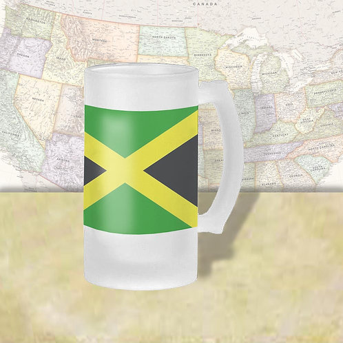 Jamaica Flag Beer Mug