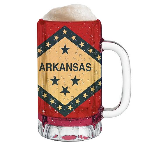 State Flag Mug Tee - Arkansas
