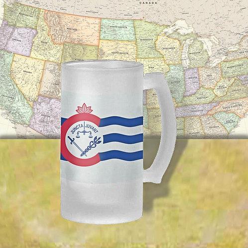 Cincinnati, Ohio City Flag Beer Mug