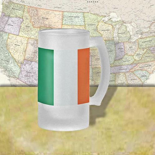 Ireland Flag Beer Mug