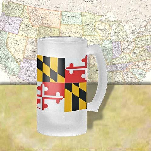 Maryland State Flag Beer Mug