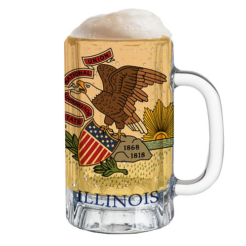 State Flag Mug Tee - Illinois