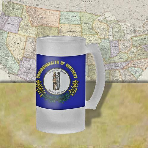 Kentucky State Flag Beer Mug