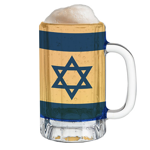 Country Flag Mug -Israel