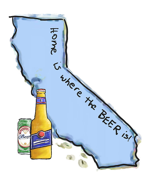 Home is Where the Beer Is - California