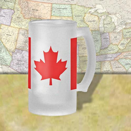 Canada Flag Beer Mug