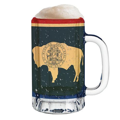 State Flag Mug Tee - Wyoming