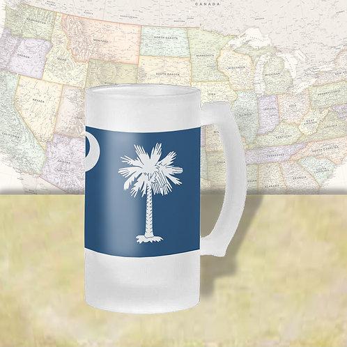 South Carolina State Flag Beer Mug