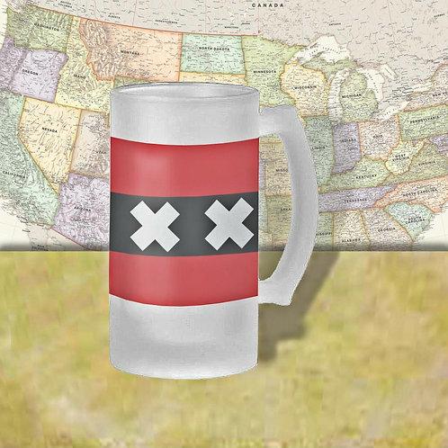 Netherlands Flag Beer Mug