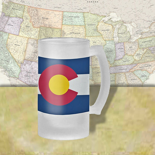 Colorado State Flag Beer Mug