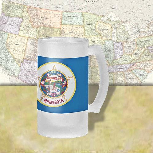 Minnesota State Flag Beer Mug