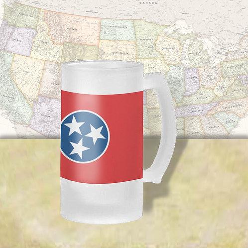 Tennessee State Flag Beer Mug