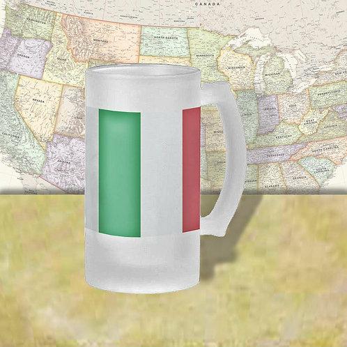 Italy Flag Beer Mug
