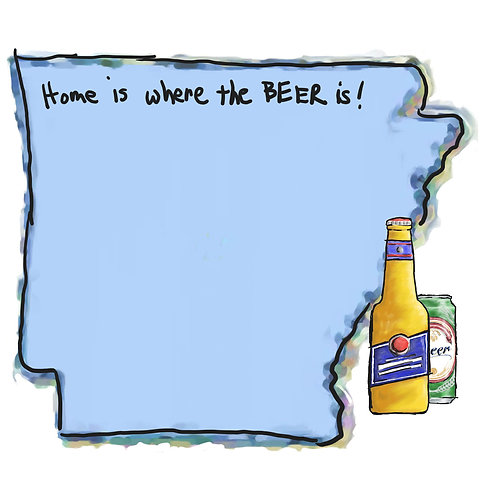 Home is Where the Beer Is - Arkansas