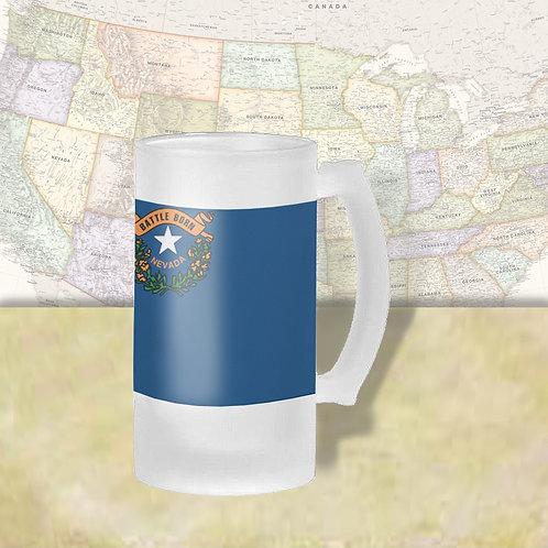 Nevada State Flag Beer Mug