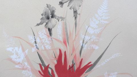 Iris, Flora indomite series