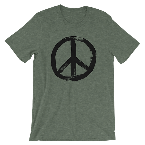 PEACE | Unisex Bella+Canvas Premium Short Sleeve 3001
