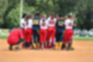 Junior Female Softball Team