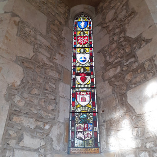Stained glass, Loders