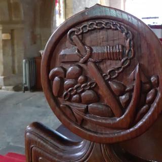 Anchor woodworking, Symondsbury