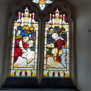 Stained glass, Askerswell