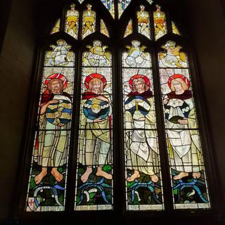 Stained glass, Symondsbury