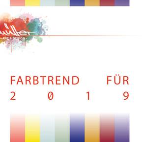 MEIN FARBTREND FÜR 2019