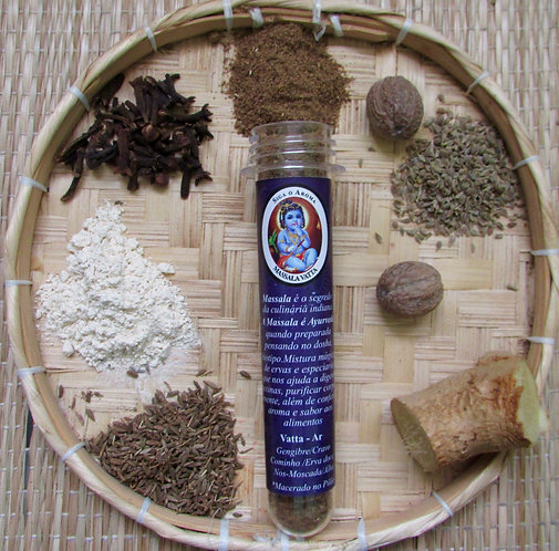 Massala Dosha Vatta - Siga o Aroma